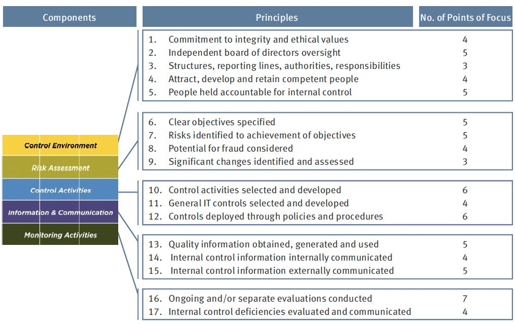 Updated Coso Internal Control Framework  The Bulletin  Volume 5  Issue 3