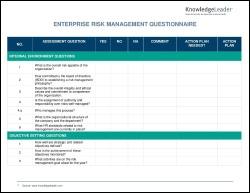 Enterprise Risk Management Questionnaire-1